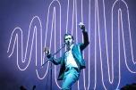 Alex Turner of Arctic Monkeys at Lollapalooza